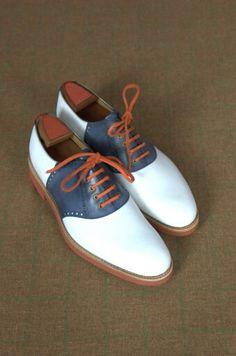 #Zapatos Marc Guyot's Saddle Buck #Shoes