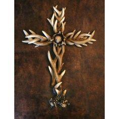 Deer Antlers Cross...love this!!