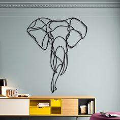 """Découvrons un artiste designer français : Antoine Tesquier Tedeschi. Ce passionné de nature a réalisé une série de sculptures intitulées """"Animal Trophy Signs""""."""