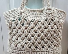 CUTIE BOW CROCHET Bag Pattern By Kerry Jayne by KerryJayneDesigns