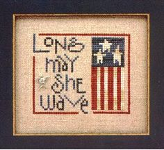 Wee Olde Glory Cross Stitch