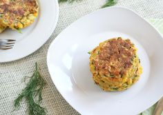 Vegan and Gluten Free Recipes | Zucchini and Corn Fritters with Dilled Cashew Sour Cream | Ricki Heller