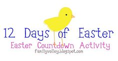 What a great way to to celebrate Easter and let your children know of its importance.