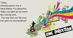 Ce melodie îţi dedică One Direction??