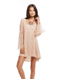 Gypster Veil Chaser T-Back Lace Dress