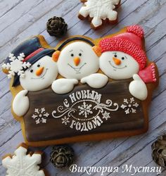 Christmas gingerbread by Victoria