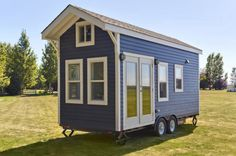 This Perfect Tiny House On Wheels Will Make You Swoon! via LittleThings.com