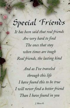 Special Friendship Quotesspecial friendship bond quotes, special friendship day quotes, special friendship quotes, special friendship quotes and sayings… Special Friend Quotes, Best Friend Cards, Birthday Quotes For Best Friend, Birthday Wishes For Him, Cards For Friends, Real Friends, Special Friends, Happy Birthday Special Friend, Birthday Message