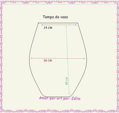 Medida para tampa do vaso em jogos de banheiro, gráfico