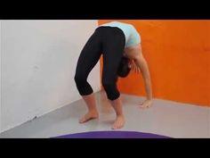 Gymnastics Bridge and Backbend Stretching Program | EasyFlexibility.com #easyflexibility #gymnastics #gymnastics4ever #adultgymnastics