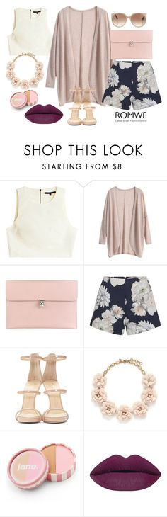 """""""Fanciful Dreams"""" by waverlymarshallmartinez ❤ liked on Polyvore featuring TIBI, Alexander McQueen, Finders Keepers, Giuseppe Zanotti, J.Crew, jane, Tom Ford, women's clothing, women's fashion and women"""