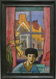 fuckyeahexpressionism: Gabriele Münter, Future (Woman in Stockholm), 1917