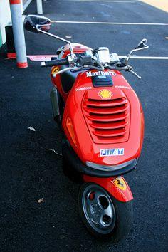 My 2001 Italjet Dragster 180cc