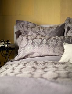 Fall in love with our 'goes-with-everything' grey bedding, available in a variety of shades, patterns, cotton or linen. Browse and buy grey bedding online… Cotton Bedding Sets, Bed Linen Sets, Comforter Sets, King Comforter, Neutral Bed Linen, Black Bed Linen, Grey Bedding, Linen Bedding, Bed Linens