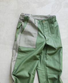"Engineered Garments WORKADAY (エンジニアード ガーメンツ ワーカーデイ) ""FATIGUE PANT-SATEEN/COMBO"