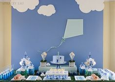 Kinser Event Company: {Real Party} Flying High ~ A Kite Themed Birthday Party