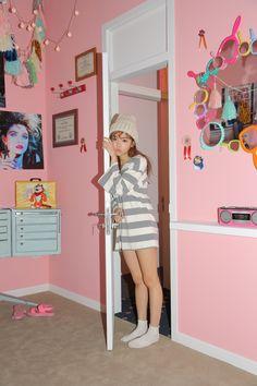aesthetic bedroom rooms stylenanda inspo kawaii pink korean 90s ulzzang mirror trends cooldiyhomedecor