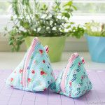 How to Sew a Triangle Zipper Bag – Pyramid Pouch Sewing Tutorial