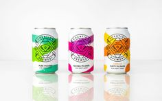 Consultancy Robot Foot has designed the packaging for a new craft lager range from Vocation Brewery.