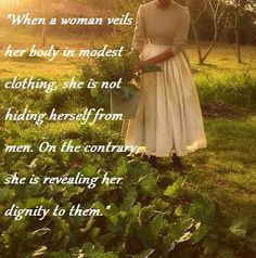 Just think. when people see us in modest clothing they see lady-like women. Modest Dresses, Modest Outfits, Modest Fashion, Modest Clothing, Modest Apparel, Modest Wear, Christian Women, Christian Quotes, Christian Living