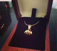 The Tulip Pendant by Benjamin Black Goldsmiths
