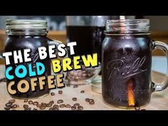How To Make The BEST Cold Brew Coffee Recipe #coffee #coldbrew #coffeerecipes
