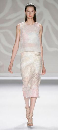 Mercedes-Benz Fashion Week: Monique Lhuillier Spring/Summer 2014
