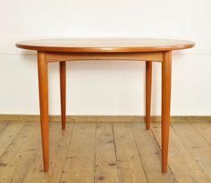 Runder Teakholz Tisch    Hersteller: Swiss Teak  Zeit: 1960er…