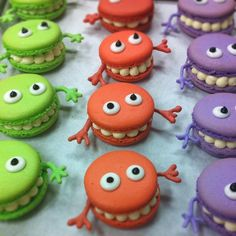 monster macaroons