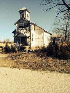 Picher, oklahoma. Ghost town.