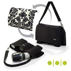 Shootsac - great lens bag.  I take it on every photo shoot.