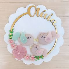 Diy Cake Topper, Acrylic Cake Topper, Birthday Cake Toppers, Baby Shower Presents, Baby Presents, Baby Shower Gifts, Girl Christening Decorations, Baby Shower Souvenirs, K Crafts