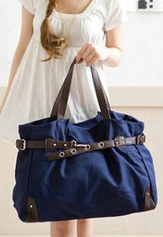 grzxy62000363 Casual Large Canvas Purse Shoulder Bag Handbag Travel db0a1c9a61