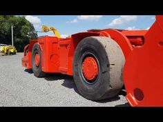 Used Underground Loader for #sale #Sandvik LHD #Scooptram  for sale . Images EJC 115 in Orange