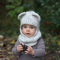 KNITTING PATTERN with crochet detailing - The Berkley Balaclava by StyleMeCozy on Etsy https://www.etsy.com/ca/listing/217113195/knitting-pattern-with-crochet-detailing