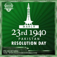 23rd March 1940  Pakistan Resolution Day Independence Day Pictures, Pakistan Independence Day, Pakistan Resolution Day, Pakistan Day, 23 March, Fantasy Life, Muhammad Ali, Resolutions, Pakistani