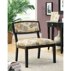 Decorating Small Spaces, Earth Tones, Fabric Patterns, Home Office, Printing On Fabric, Accent Chairs, Dining Chairs, Home And Garden, Living Room