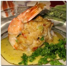 Heavenly Food with Diana: Baked Stuffed Shrimp