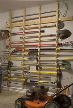Garden Tool Storage: