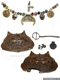 Pskov female grave findings