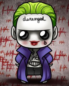 how to draw kawaii suicide squad joker More