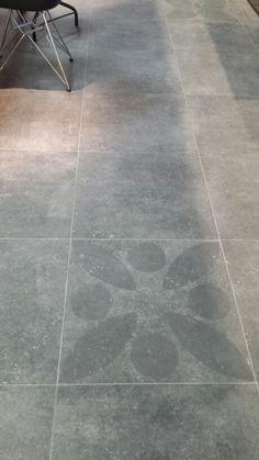 Vtwonen tegels hormigon antraciet 60x60 icm decor citrus