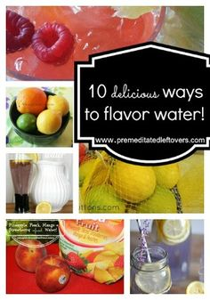 Flavored Water is a delicious and healthy alternative to sodas and other sugary drinks. Here is a list of Flavored Water recipes.