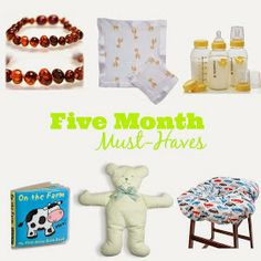 Love Like Johnny and June...: Five Month Must Haves
