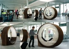 Obsideon airport transfer experience by Roger Kellenberger #pod #design
