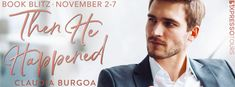 Stephanie Jane: Then He Happened by Claudia Y. Burgoa + #Giveaway Book Review Sites, Book Reviews, People Getting Married, Shotgun Wedding, Thirty Birthday, Feeling Special, Book Authors, A Good Man, Bestselling Author