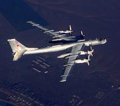 Tupolev Tu-95 - Voyenno-Vozdushnye Sily Rossii (Russian Air Force), Russia (NATO reporting name Bear).