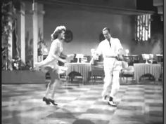 """Too Cool.....Fred Astaire, Rita Hayworth dancing to Jackie Wilson   singing """"Higher and higher"""""""