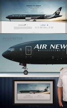 Aviation Engineering, Aviation Art, Rugby Union Teams, Air New Zealand, All Blacks, Boeing 777, Auckland, Airplanes, Australia