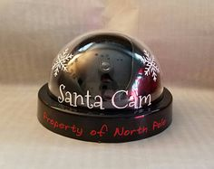 Santa Cam, Christmas Cam, Elf Cam, Elf On The Shelf, Camera, Santa Clause, Security Camera, Christmas Decor, Fake Camera, Xmas